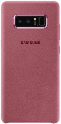 Чехол (клип-кейс) Samsung для Samsung Galaxy Note 8 Alcantara Cover Great розовый (EF-XN950APEGRU) чехол клип кейс samsung alcantara cover great для samsung galaxy note 8 хаки [ef xn950akegru]