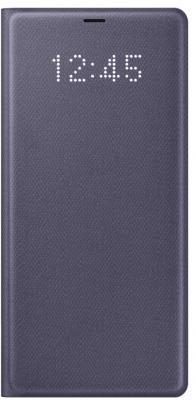 Чехол (флип-кейс) Samsung для Samsung Galaxy Note 8 LED View Cover фиолетовый (EF-NN950PVEGRU) аксессуар чехол samsung galaxy note 8 protective standing cover dark blue ef rn950cnegru