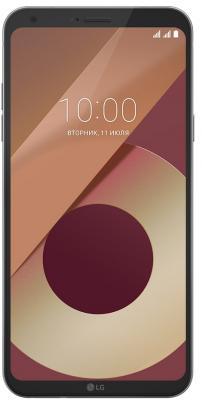 Смартфон LG Q6a платина 5.5 16 Гб LTE Wi-Fi GPS 3G LGM700.ACISPL смартфон alcatel onetouch 7070 pop 4 6 золотистый 6 16 гб wi fi gps 3g lte