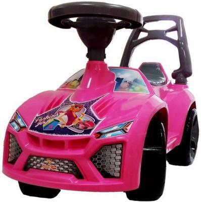 Каталка-машинка Orion Ламбо - Принцесса розовый от 3 лет пластик звук каталка квадроцикл falk принцесса лиловый от 3 лет пластик fal608