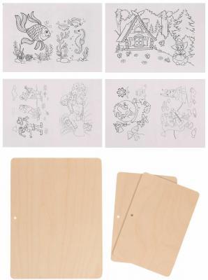 Набор для выжигания Пелси Сказки, 3 картинки от 8 лет в ассортименте от 123.ru