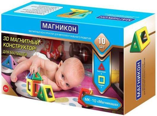 Набор для творчества Магникон Магникоша с рождения MK-10 от 123.ru