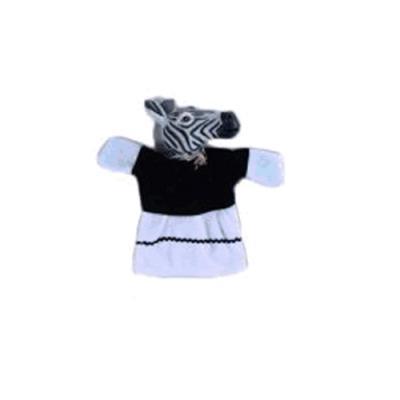 Кукла на руку Жирафики Зебра
