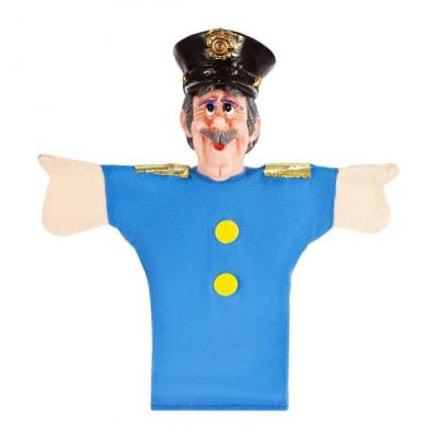 "Кукла на руку Жирафики ""Полицейский"""
