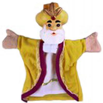 "Кукла на руку Жирафики ""Султан"" мягкая"