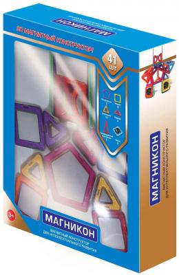 """Магнитный конструктор Магникон """"Робот"""" 41 элемент"""