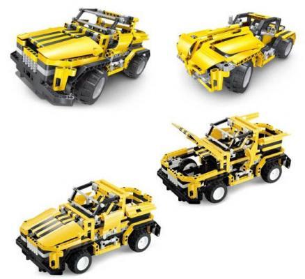 цены Конструктор Shantou Gepai Внедорожник-грузовик 426 элементов
