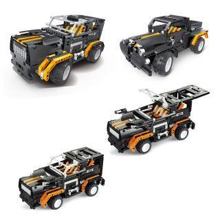 Конструктор Shantou Gepai Внедорожник-грузовик 509 элементов пазл 3d shantou gepai заяц 56 элементов 9027