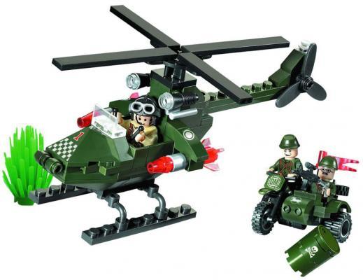 Конструктор BRICK Вертолет 806 119 элементов конструктор brick вертолет 275 элементов 818