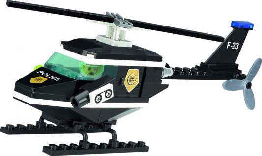 Конструктор BRICK Полицейский вертолет 123 76 элементов