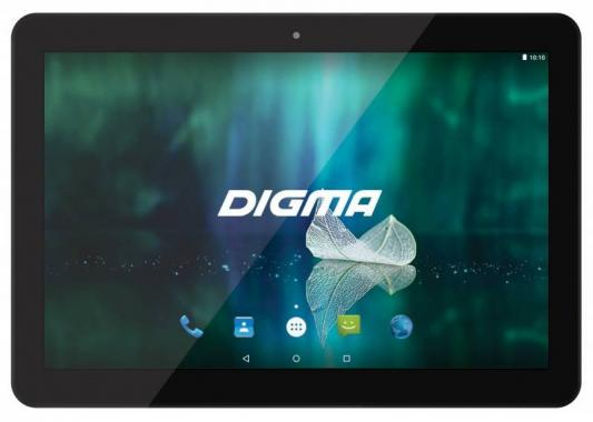 Фото Планшет Digma Plane 1526 4G 10.1 16Gb черный Wi-Fi 3G Bluetooth LTE Android PS1138ML сотовый телефон digma linx a177 2g