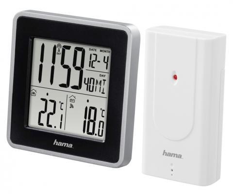 Погодная станция Hama EWS Intro H-176924 белый  погодная станция hama ews 165 h 92659 черный [00092659]
