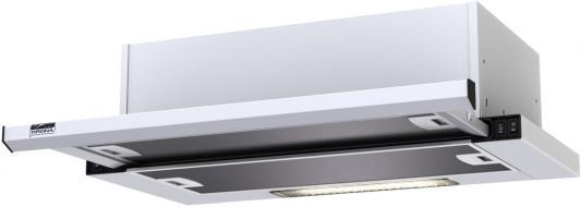 Вытяжка встраиваемая Krona Kamilla 600 slim белый шатура krona вытяжка kamilla sensor 600 2м черная