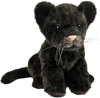 Мягкая игрушка Hansa Детеныш ягуара искусственный мех черный 17 см 7289 у кого какой детеныш книжка игрушка