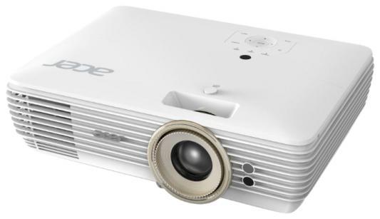 Проектор Acer V7850 3840x2160 2200 люмен 1000000:1 белый MR.JPD11.001
