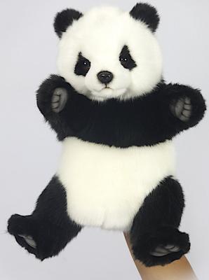 Мягкая игрушка панда Hansa 7165 искусственный мех белый черный 30 см hansa мягкая игрушка панда hansa 25см