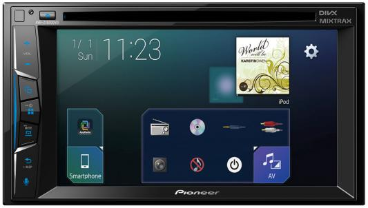 Автомагнитола Pioneer AVH-Z1000DVD 6.2USB MP3 CD DVD FM 2DIN 4x50Вт черный sinbo smo 3652 свч печь