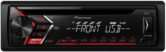 Автомагнитола Pioneer DEH-S100UB USB MP3 CD FM 1DIN 4x50Вт черный