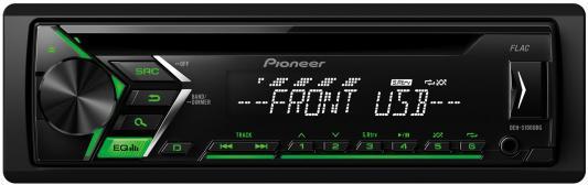 Автомагнитола Pioneer DEH-S100UBG USB MP3 CD FM 1DIN 4x50Вт черный автомагнитола kenwood kdc 210ui usb mp3 cd fm 1din 4х50вт черный