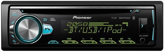 Автомагнитола Pioneer DEH-S5000BT USB MP3 CD FM 1DIN 4x50Вт черный автомагнитола pioneer deh 4800fd usb mp3 cd fm rds 1din 4x100вт пульт ду черный