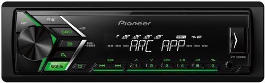 Автомагнитола Pioneer MVH-S100UBG USB MP3 FM RDS 1DIN 4x50Вт черный автомагнитола cd pioneer deh x8700bt 1din