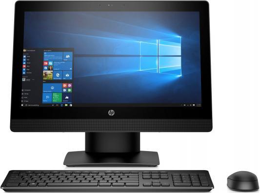 "Моноблок 20"" HP ProOne 400 G3 AiO 1600 x 900 Intel Celeron-G3900T 4Gb 500 Gb Intel HD Graphics Windows 10 Professional черный 2RT98ES"