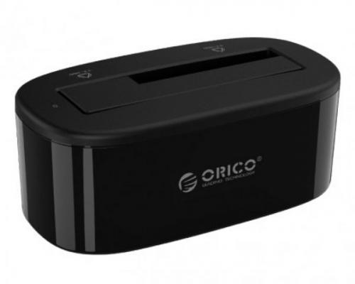 Док станция для HDD 2.5/3.5 SATA Orico 6218EU3 / 6218US3-PRO-US-BK USB3.0 черный