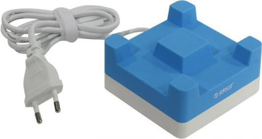 Сетевое зарядное устройство Orico CHA-4U-EU 4 x USB 2.4А синий
