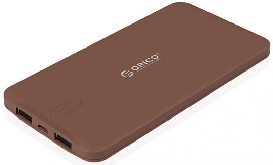 лучшая цена Портативное зарядное устройство Orico LD50 (коричневый)