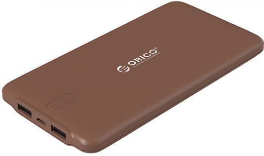 лучшая цена Портативное зарядное устройство Orico LD100 (коричневый)