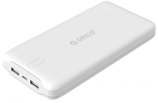 Портативное зарядное устройство Orico LD200 (белый) кабель orico orico cer3 10 белый