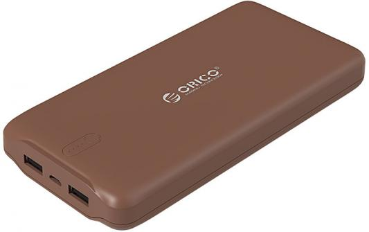 лучшая цена Портативное зарядное устройство Orico LD200 (коричневый)