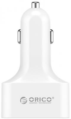 Автомобильное зарядное устройство Orico UCH-4U 4 x USB 2.4А белый автомобильное зарядное устройство orico uch 4u wh 4 usb 9 6a белое page 5