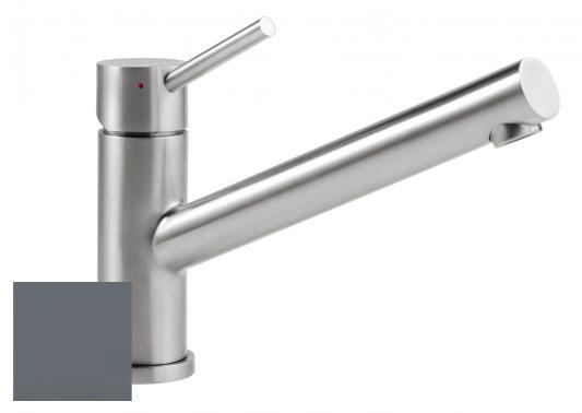 Смеситель Villeroy & Boch Como i4 Graphite Ceramicplus серый 925100I4