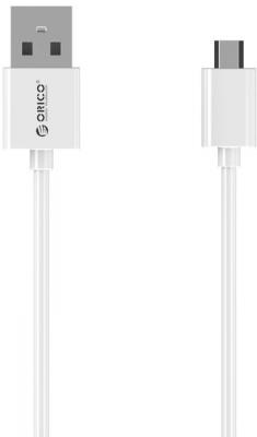 Кабель microUSB 1м Orico круглый ADC-10-V2-WH кабель microusb 1м orico круглый fdc 10 wh