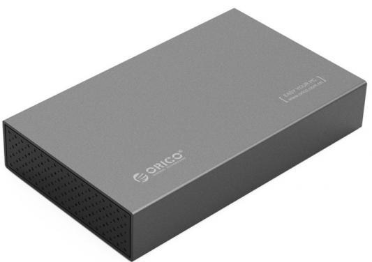 Внешний контейнер для HDD 3.5 SATA Orico 3518S3 USB3.0 серый
