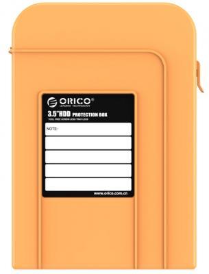 Чехол для HDD 3.5 Orico PHI-35 оранжевый чехол для жесткого диска 2 5 orico phd 25 красный