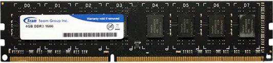 Оперативная память 4Gb PC3-12800 1600MHz DDR3 DIMM TEAM TED34G1600C1101