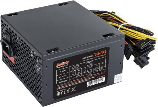 БП ATX 700 Вт Exegate 700NPXE(+PFC) EX220360RUS бп atx 700 вт exegate 700npx