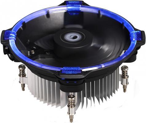 Кулер для процессора ID-Cooling DK-03 Halo Led Socket 1150/1151/1155/S1156/2066 синяя подсветка кулер id cooling dk 03 halo led white intel lga1150 1151 1155 1156