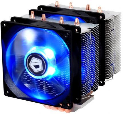 Кулер для процессора ID-Cooling SE-904TWIN Socket 1150/1151/1155/1156/2066/2011/2011-3/AM2/AM2+/AM3/AM3+/FM1/FM2/FM2+ холодильник samsung rs4000 с двухконтурной системой twin cooling 569 л