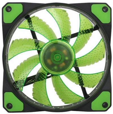 Вентилятор GameMax GMX-GF12G 120x120x25mm 1100rpm вентилятор gamemax gmx af12r