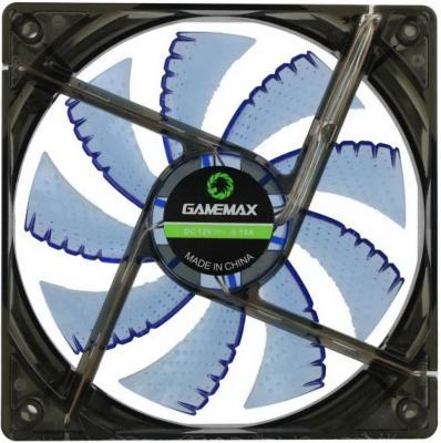 Вентилятор GameMax GMX-WF12B 120x120x25mm 1100rpm вентилятор gamemax gmx af12r