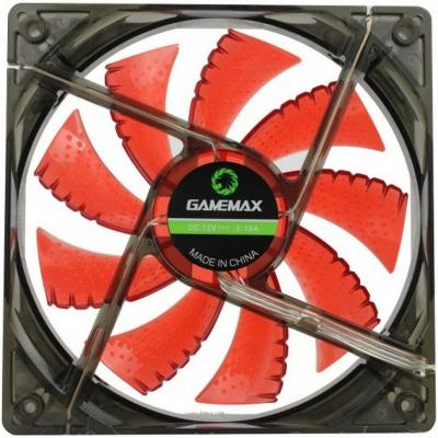 Вентилятор GameMax GMX-WF12R 120x120x25mm 1100rpm вентилятор gamemax gmx af12r