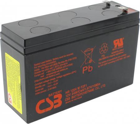 Батарея CSB HR1224W F2F1 12V/5.5AH
