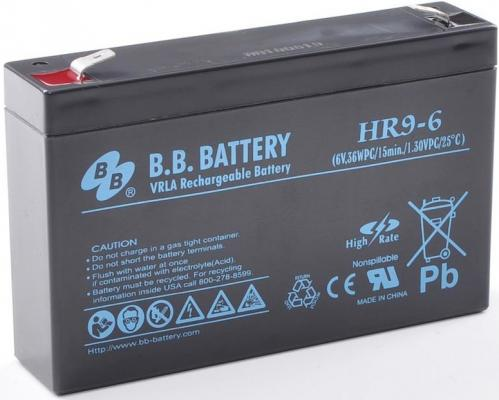Батарея B.B. Battery HR 9-6 8Ач 6B us eu free tax electric bike battery 36v 15ah water bottle 18650 li ion battery 36v 500w e bike kettle battery with charger bms