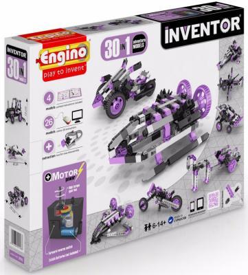 """Конструктор ENGINO """"Inventor"""" - Приключения 170 элементов 30 моделей с мотором 3031 конструкторы engino inventor набор из 90 моделей с мотором"""