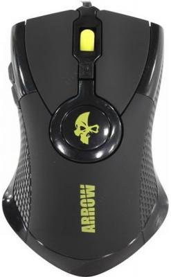 Мышь проводная Jet.A Arrow JA-GH35 чёрный USB