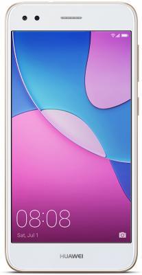 "Смартфон Huawei Nova Lite 2017 золотистый 5"" 16 Гб LTE Wi-Fi GPS 3G"