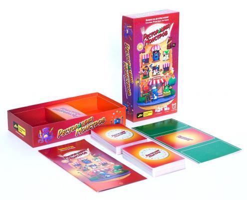 Настольная игра Cosmodrome games семейная Ресторация монстров 52018